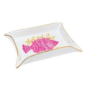 Lilly Pulitzer Heart and Soul Trinket Tray